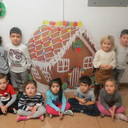 Pre-K Gingerbread Making photo album thumbnail 1