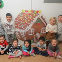 Pre-K Gingerbread Making photo album thumbnail 2