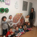 Pre-K Gingerbread Making photo album thumbnail 3