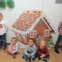 Pre-K Gingerbread Making photo album thumbnail 4